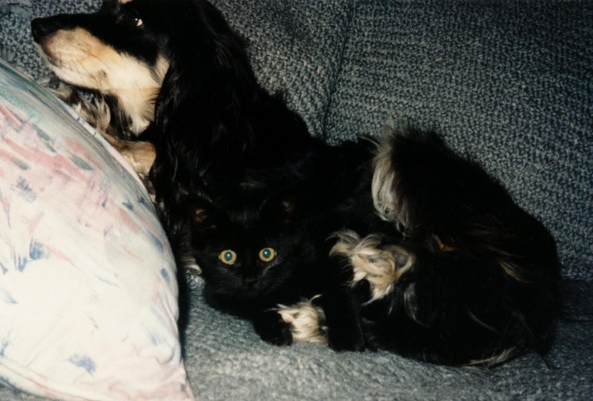 Sara & Friend
